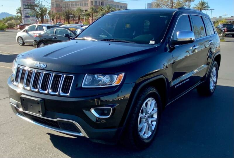 2015 Jeep Grand Cherokee for sale at Charlie Cheap Car in Las Vegas NV