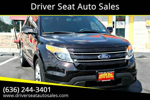 2013 Ford Explorer for sale at Driver Seat Auto Sales in St. Charles MO