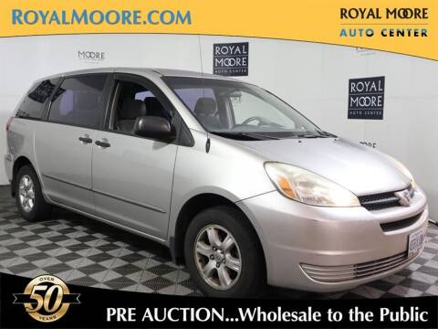 2004 Toyota Sienna for sale at Royal Moore Custom Finance in Hillsboro OR
