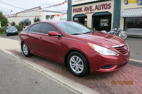 2012 Hyundai Sonata for sale at PARK AVENUE AUTOS in Collingswood NJ