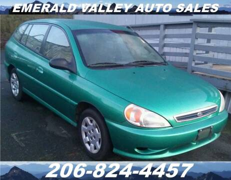 2002 Kia Rio for sale at Emerald Valley Auto Sales in Des Moines WA