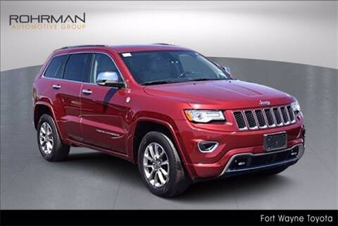 2015 Jeep Grand Cherokee for sale at BOB ROHRMAN FORT WAYNE TOYOTA in Fort Wayne IN