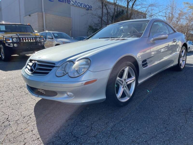 2006 Mercedes-Benz SL-Class for sale at Quality Autos in Marietta GA