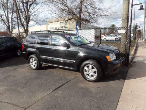 2009 Jeep Grand Cherokee for sale at CAR CORNER RETAIL SALES in Manchester CT