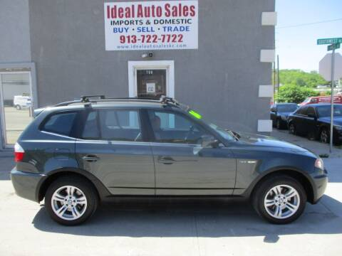 2006 BMW X3 for sale at Ideal Auto in Kansas City KS