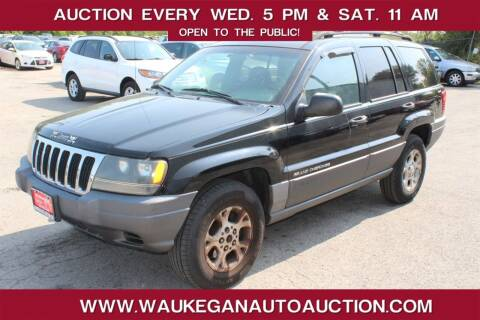 2001 Jeep Grand Cherokee for sale at Waukegan Auto Auction in Waukegan IL