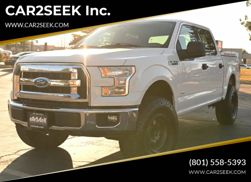 2015 Ford F-150 for sale at CAR2SEEK Inc. in Salt Lake City UT