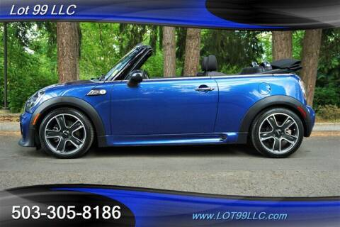 2013 MINI Convertible for sale at LOT 99 LLC in Milwaukie OR