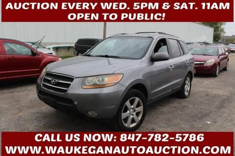 2008 Hyundai Santa Fe for sale at Waukegan Auto Auction in Waukegan IL
