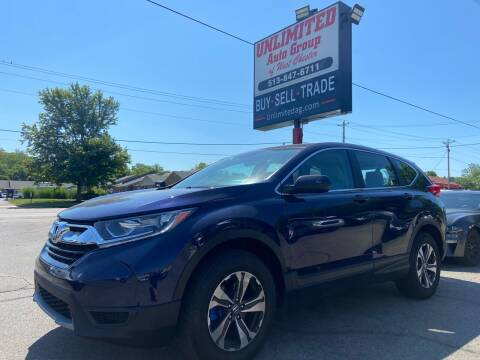 2018 Honda CR-V for sale at Unlimited Auto Group in West Chester OH