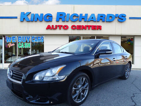 2012 Nissan Maxima for sale at KING RICHARDS AUTO CENTER in East Providence RI