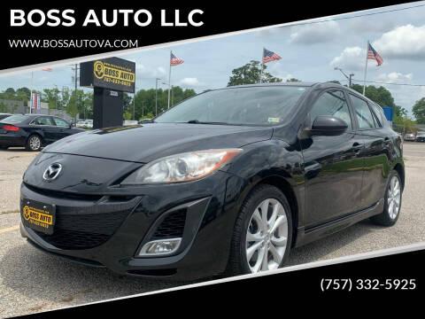 2010 Mazda MAZDA3 for sale at BOSS AUTO LLC in Norfolk VA
