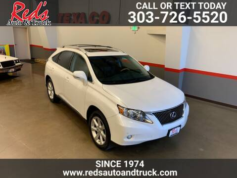 2011 Lexus RX 350 for sale at Red's Auto and Truck in Longmont CO