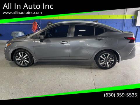 2020 Nissan Versa for sale at All In Auto Inc in Addison IL