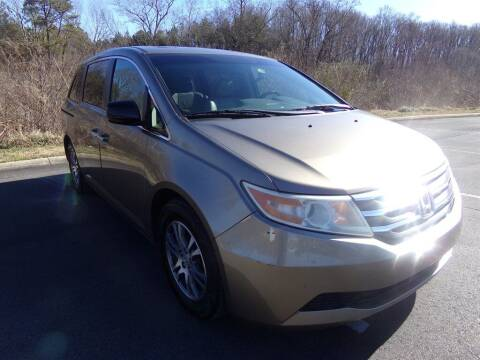2011 Honda Odyssey for sale at J & D Auto Sales in Dalton GA