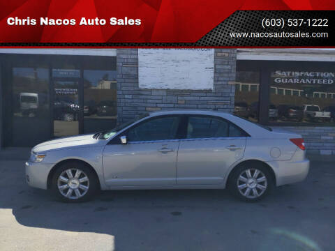 2008 Lincoln MKZ for sale at Chris Nacos Auto Sales in Derry NH
