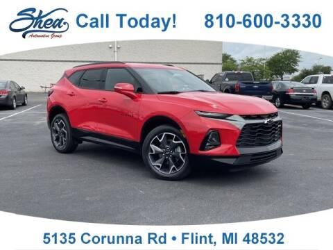 2019 Chevrolet Blazer for sale at Jamie Sells Cars 810 - Linden Location in Flint MI