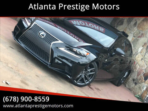 2015 Lexus IS 250 for sale at Atlanta Prestige Motors in Decatur GA