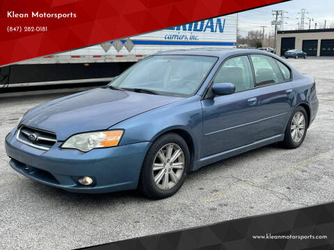 2006 Subaru Legacy for sale at Klean Motorsports in Skokie IL