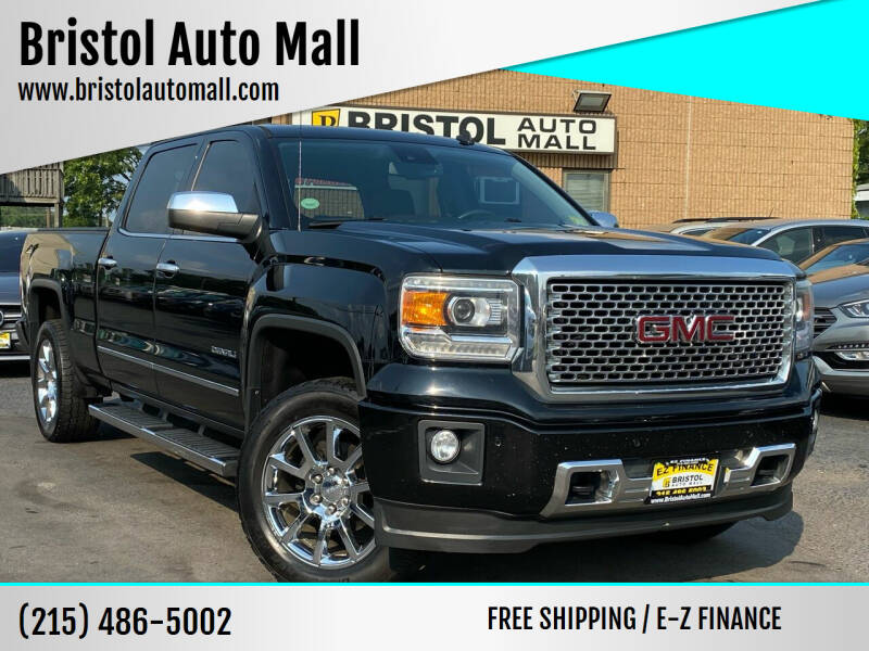 2014 GMC Sierra 1500 for sale at Bristol Auto Mall in Levittown PA