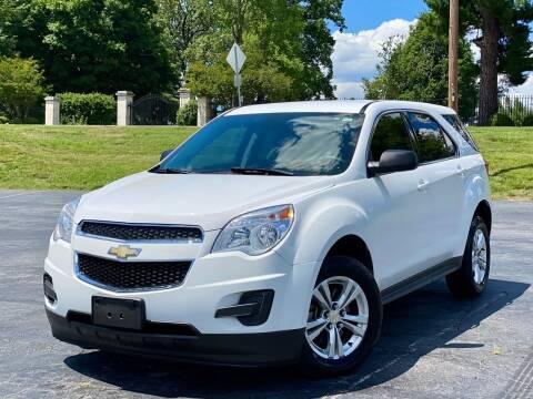 2012 Chevrolet Equinox for sale at Sebar Inc. in Greensboro NC