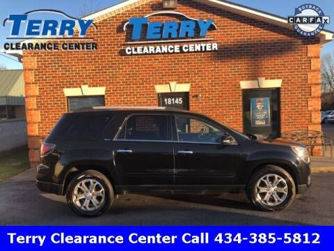 2016 GMC Acadia for sale at Terry Clearance Center in Lynchburg VA