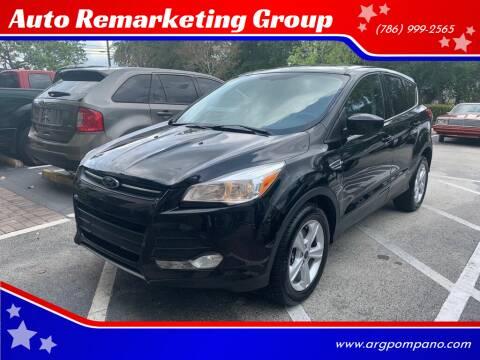 2016 Ford Escape for sale at Auto Remarketing Group in Pompano Beach FL