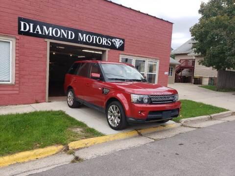 2013 Land Rover Range Rover Sport for sale at Diamond Motors in Pecatonica IL