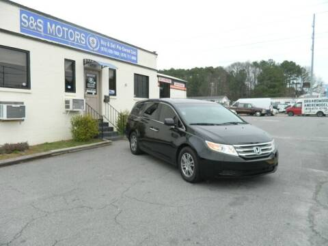 2012 Honda Odyssey for sale at S & S Motors in Marietta GA