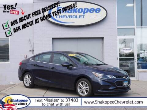 2016 Chevrolet Cruze for sale at SHAKOPEE CHEVROLET in Shakopee MN