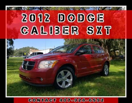 2012 Dodge Caliber for sale at AFFORDABLE ONE LLC in Orlando FL