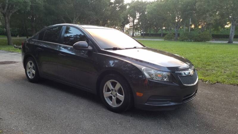 2014 Chevrolet Cruze for sale at DELRAY AUTO MALL in Delray Beach FL