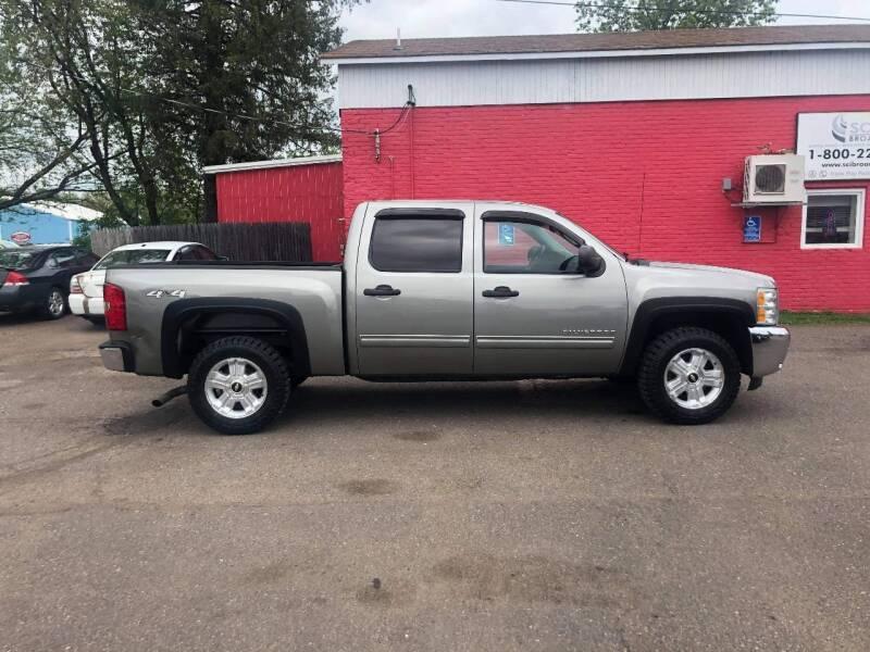 2012 Chevrolet Silverado 1500 for sale at WB Auto Sales LLC in Barnum MN