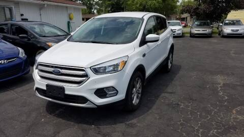 2017 Ford Escape for sale at Nonstop Motors in Indianapolis IN