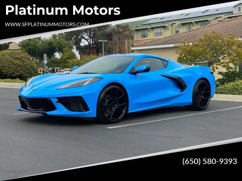 2020 Chevrolet Corvette for sale at Platinum Motors in San Bruno CA