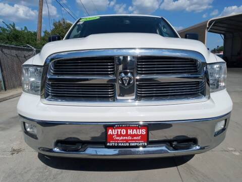 2009 Dodge Ram Pickup 1500 for sale at Auto Haus Imports in Grand Prairie TX
