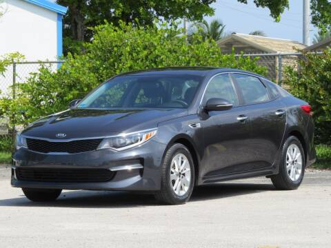 2017 Kia Optima for sale at DK Auto Sales in Hollywood FL