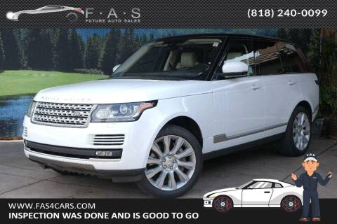 2016 Land Rover Range Rover for sale at Best Car Buy in Glendale CA