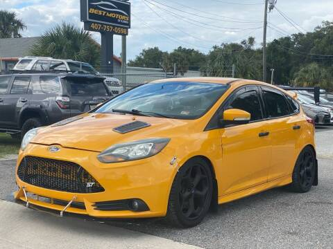 2014 Ford Focus for sale at BEST MOTORS OF FLORIDA in Orlando FL