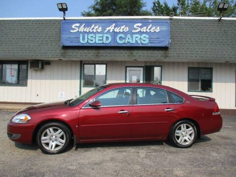 2007 Chevrolet Impala for sale at SHULTS AUTO SALES INC. in Crystal Lake IL