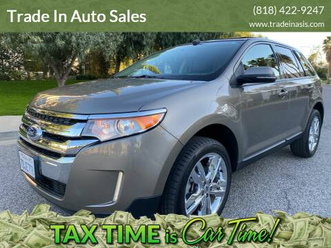 2014 Ford Edge for sale at Trade In Auto Sales in Van Nuys CA