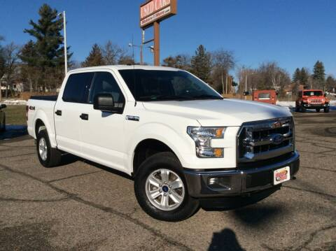 2016 Ford F-150 for sale at MOTORS N MORE in Brainerd MN