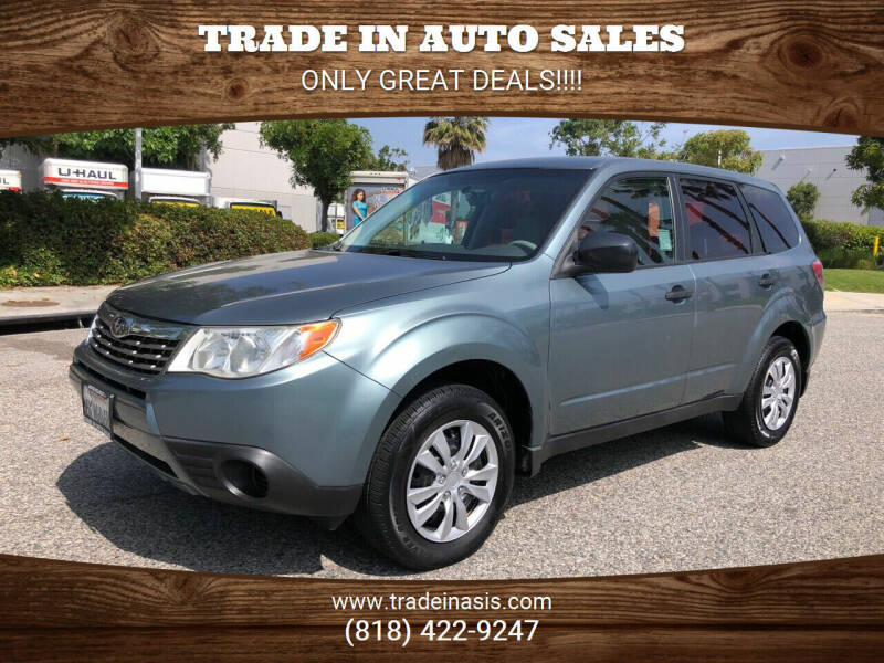2010 Subaru Forester for sale at Trade In Auto Sales in Van Nuys CA