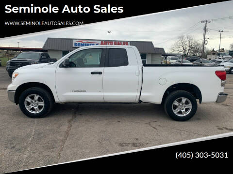 2007 Toyota Tundra for sale at Seminole Auto Sales in Seminole OK