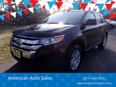 2011 Ford Edge for sale at American Auto Sales in Forest Lake MN
