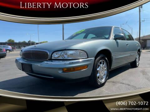 2003 Buick Park Avenue for sale at Liberty Motors in Billings MT