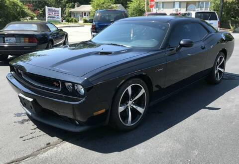 2014 Dodge Challenger for sale at Pat's Auto Sales in Johnston RI