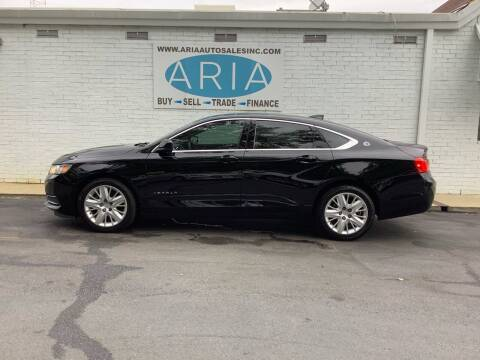 2017 Chevrolet Impala for sale at ARIA AUTO SALES INC.COM in Raleigh NC