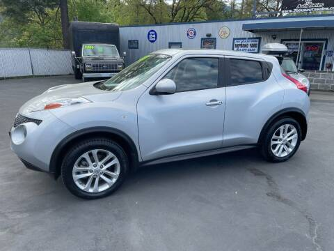 2014 Nissan JUKE for sale at 3 BOYS CLASSIC TOWING and Auto Sales in Grants Pass OR