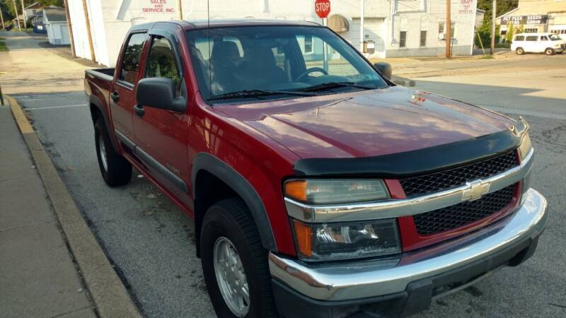 2005 Chevrolet Colorado for sale at Graft Sales and Service Inc in Scottdale PA